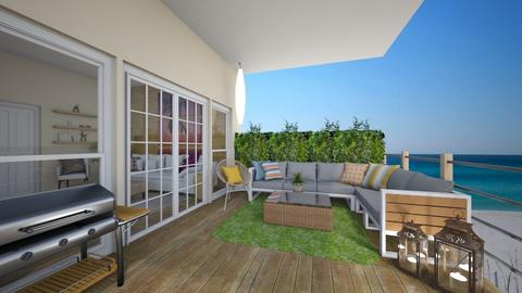 Beach house balcony - Garden - by tj94
