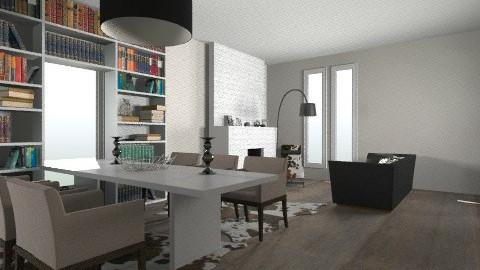 keuken woonkamer - by ruevanaa