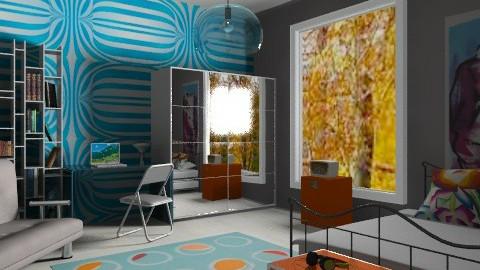 Square room - Eclectic - Bedroom - by mrschicken