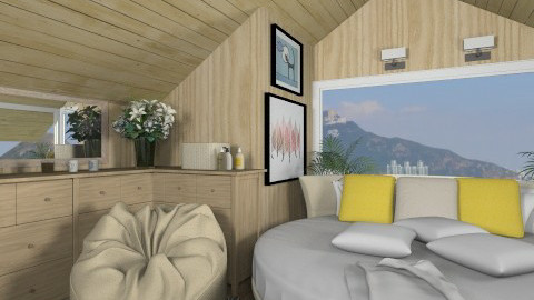 Bedroom007 - Country - Bedroom - by Ivana J