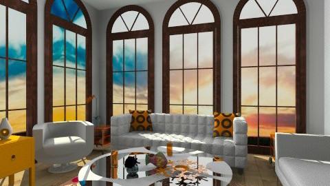 orangeeee - Glamour - Living room - by Stanojkovic