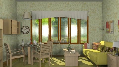 Nature. - Retro - Living room - by milyca8