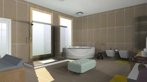 bloum - Retro - Bathroom - by christinamp