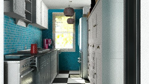 Apartment kitchen - Eclectic - Kitchen - by alleypea