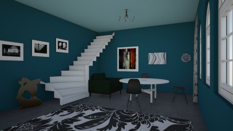 Blue room - Modern - by matthewwXMUf