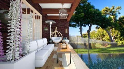 balcony jungle - by eleonoraxruc