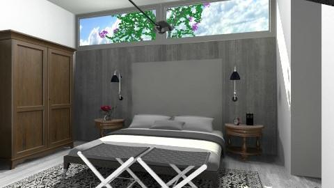 Concrete Sleep - Minimal - Bedroom - by 3rdfloor