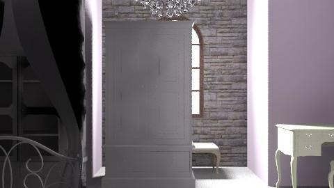 inspired by Rose - Vintage - Bedroom - by Sapphirus