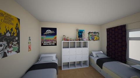 Kids room rethink2 - Eclectic - Kids room - by pinklilith