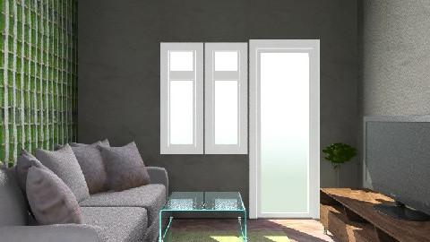 1room - Living room - by mariika