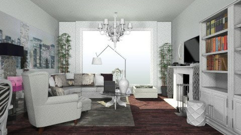 lux - Glamour - Living room - by nataliaMSG