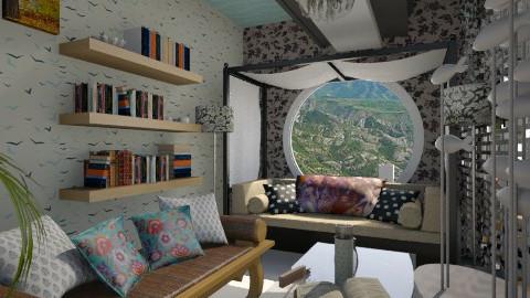Nakagi Capsule smart room - Modern - Living room - by aarish khan
