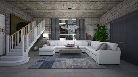 mansion 1 living - Living room - by guyciara87