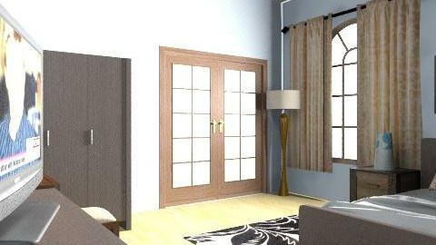 romantic bed room - Rustic - Bathroom - by fnoon