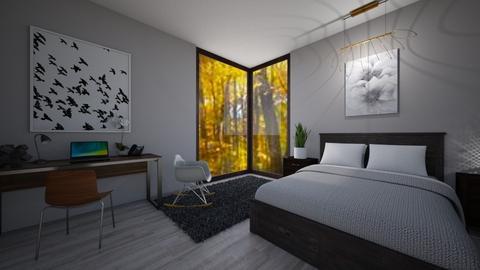 bedroom - Bedroom - by avawrightthewrightone