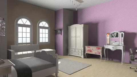 Bedroom - Classic - Bedroom - by coccinelledu28