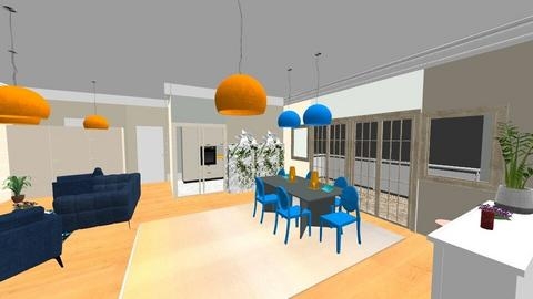 Panoramica 3 - Modern - Living room - by Vela
