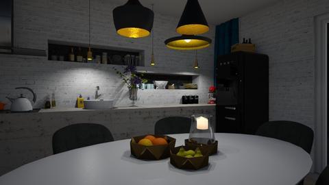 Kitchen - by Annathea