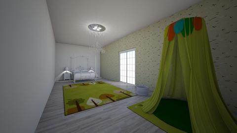 kids room - Modern - Bedroom - by waad702