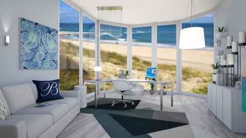 Nautical Office - Modern - by Isaacarchitect