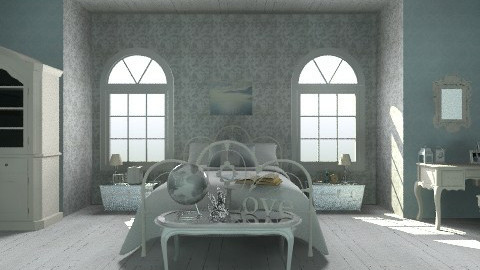 Tiffany White Attic - Classic - Bedroom - by MichaelAndAvery