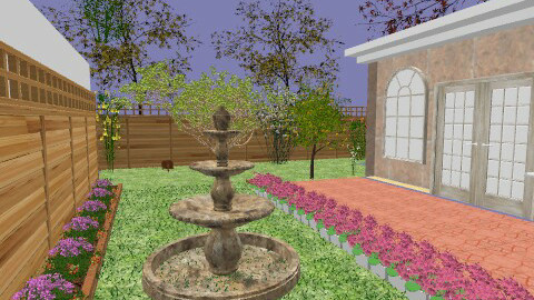 Flower garden - Classic - Garden - by mel1808