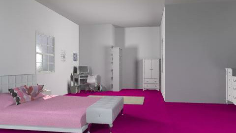 My room - Feminine - Bedroom - by candylandbabe94