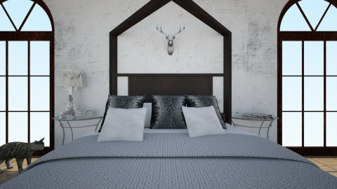 Cozy Bedroom  - Bedroom - by sways2