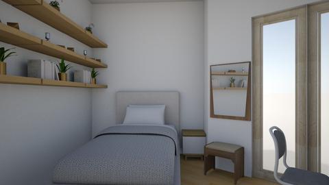 Lena_s room - Modern - Bedroom - by dobovits