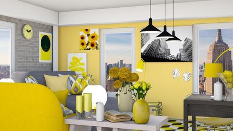 Sunset Living - Modern - Living room - by HIHELLOHI