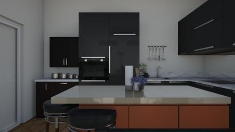 my house - Kitchen - by xavierchabot