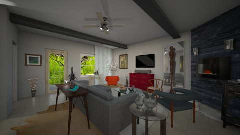 Living Room - Eclectic - Living room - by TJOHNS
