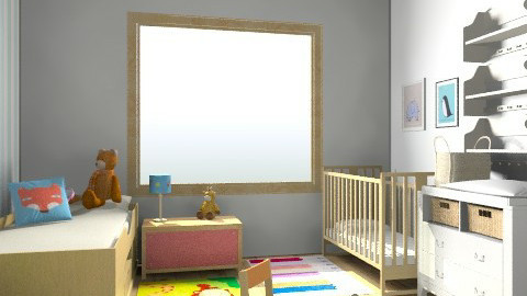 Cameretta - Rustic - Kids room - by jules_