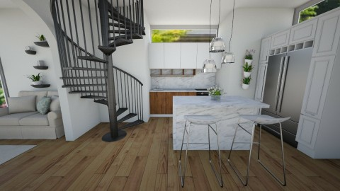 modern kitchen - Kitchen - by kaylers101