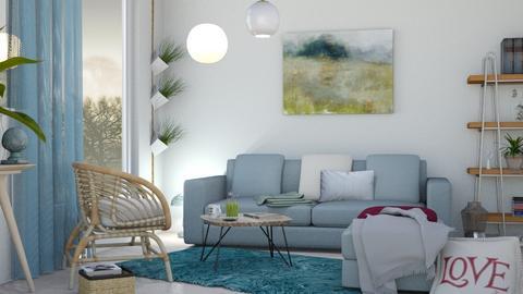 M_Morning mist - Living room - by milyca8