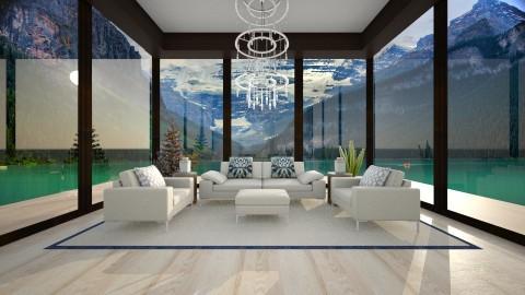 Lake Reception - Minimal - Living room - by Bianca Biffa Hart