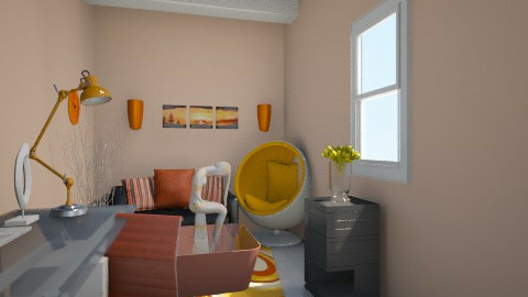 Tiny Living - Modern - Living room - by Fynncakes