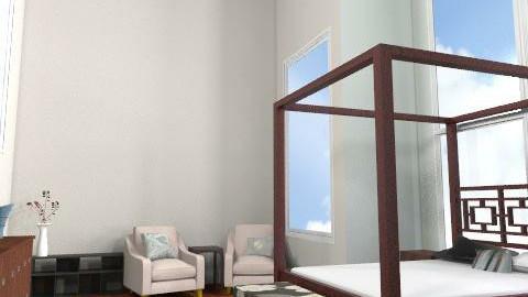 tall bedroom - Modern - Bedroom - by phatpiggy13