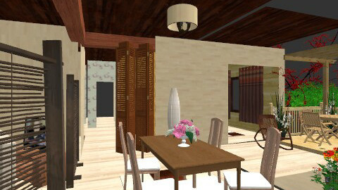 Dining room - Country - Dining room - by Tropicaholic