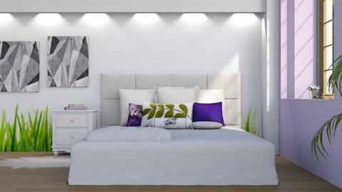 Purple Meadow - Modern - Bedroom - by stephendesign