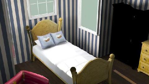 Franks room - Glamour - Kids room - by Tom Chapman