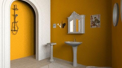 casa mykonos - Vintage - Bathroom - by pigipigi