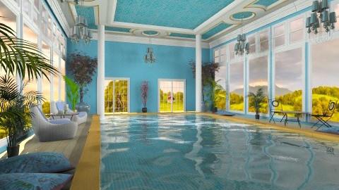 Interior Pool - Classic - Garden - by Bibiche