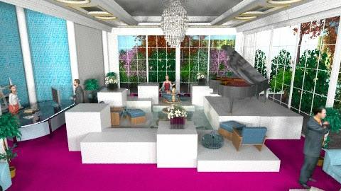 hotel lobby chic 4 - by livia87