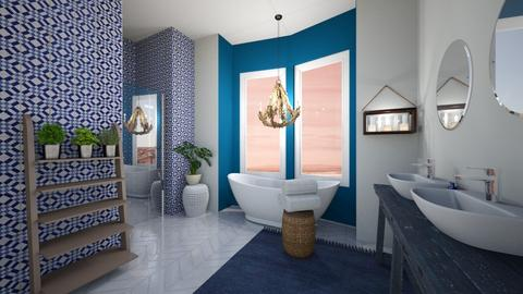 nautical bathroom - Bathroom - by JessK