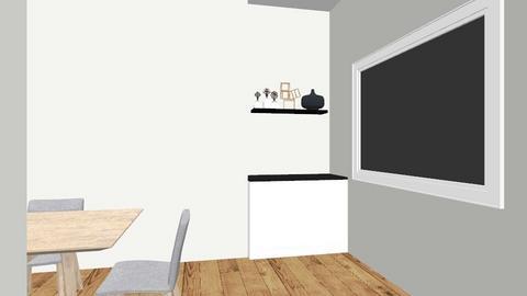 downstairs - Kitchen - by monicaarne