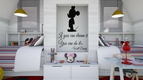 Mickey Bedroom - Modern - Bedroom - by soniagoncalves
