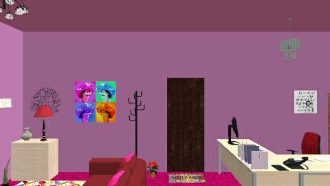 MY HOME OFFICE - Minimal - Office - by Wani AMZN