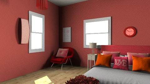 romantic room - Bedroom - by wanda123