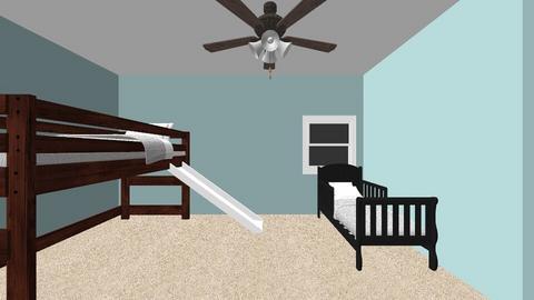 Boys room - Kids room - by moshiachnow100